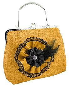 Kabelky - Spoločenská dámská čipková kabelka 0976D - 5685011_