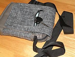 Tašky - Pánska taška - sivo-čierna - 5685017_
