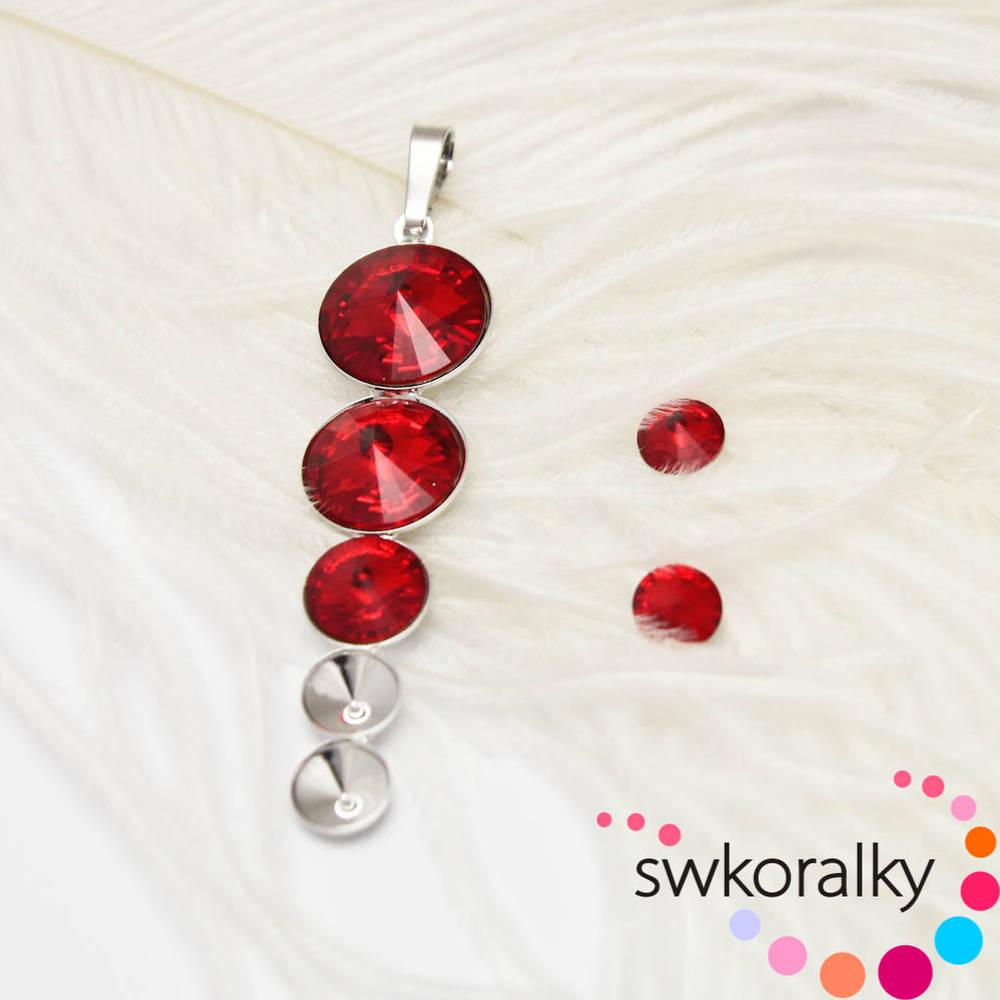 Přívěsek na RIVOLI kámen SWAROVSKI ® ELEMENTS   swkoralky - SAShE.sk ... 28f4553e47a