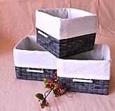Košíky - Grey box/ks - 5684561_