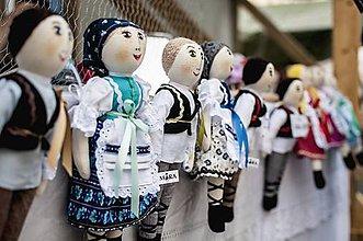 Bábiky - bábiky MARA a JURO/pár /na želanie,maľovaná tvár ,farebnosť na želanie - 5686418_