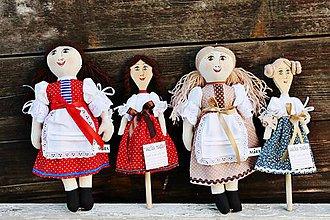 Bábiky - Vareška MARIŠKA /bábika na vareške / podľa želania - 5686460_