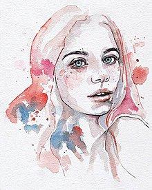 Obrazy - Pieseň o vášni, akvarel - 5684648_