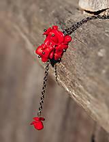 Náhrdelníky - Koralový náhrdelník - 5688870_