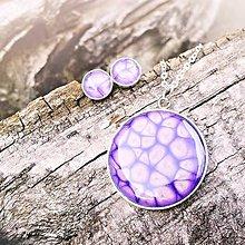 Sady šperkov - sada Fialové mámení - 5687132_