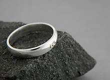 Prstene - 585 zlatý prsten Infinity - 5691557_