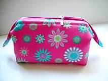 Taštičky - Pink  Flowers - 5690468_