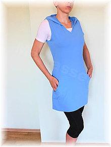 Šaty - Šatovka  s kapucí vz.286 více barev - 5691869_