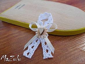 Pierka - vintage v bielo&béžovom - 5691610_