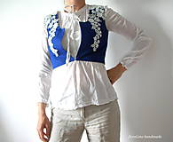 Iné oblečenie - prucel - Staré modré požičané - 5690484_