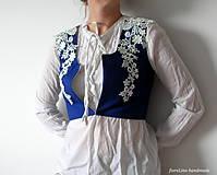 Iné oblečenie - prucel - Staré modré požičané - 5690485_