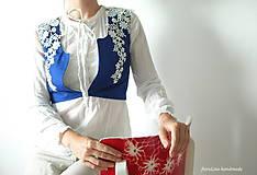 Iné oblečenie - prucel - Staré modré požičané - 5690486_
