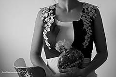 Iné oblečenie - prucel - Staré modré požičané - 5690487_