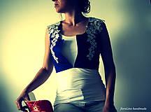 Iné oblečenie - prucel - Staré modré požičané - 5690489_
