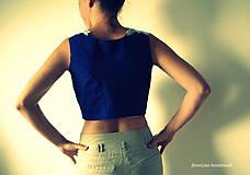 Iné oblečenie - prucel - Staré modré požičané - 5690492_