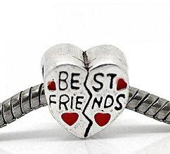 Korálky - Pandorková korálka BEST FRIEND - 5692491_