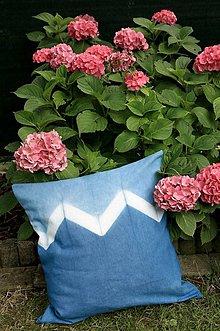 Úžitkový textil - Indigo Pillow - 5691374_