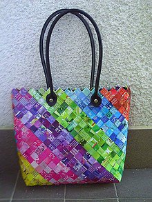 Veľké tašky - Dúhová Ecoistka 1 - 5692662_