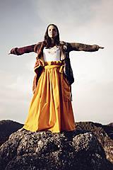 Sukne - Sukňa Zlaté klasy z kolekcie