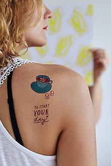 Nezaradené - Dočasné tetovačky - Káva - 5693706_