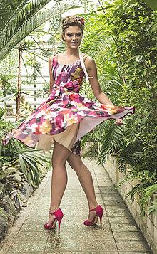 Šaty - Violet Skyscrapers - 5693834_