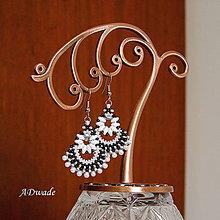 Náušnice - Korálkové náušnice Alexandra - 5697440_