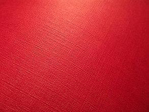 Papier - Razený papier červený 50*70cm - 5696854_