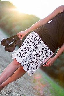 01e4c6fcd630 Sukne - Biele kvety....... - 5697530
