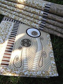 """Úžitkový textil - Prestieranie """" Original by Kajura No.9 :) - 5696591_"""