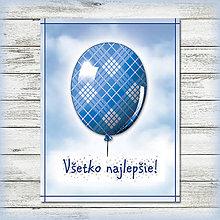 Papiernictvo - Balónová pohľadnica - 5696873_