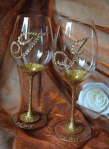 Nádoby - Svadobné poháre - 5699451_