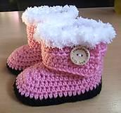 Topánočky - Čižmičky na studené nožičky - 5698906_