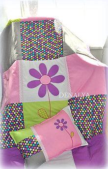 Úžitkový textil - Prehoz 120/205cm z kolekcie Violet vzor B - 5701857_