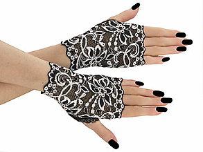 Rukavice - Dámské čipkové rukavice 01J - 5700968_