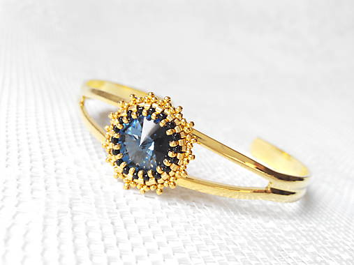 7b5c3e73b Mata Hari bracelet (Swarovski crystal / 24k Gold) / BonBonBijoux ...