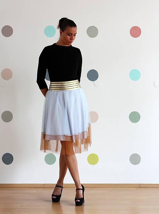 2f9d2aecee3c Tylová tutu sukňa s vysokým pásom 40-42   Verseus - SAShE.sk ...