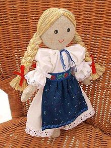 Bábiky - bábika Zuzka (2) - 5700074_