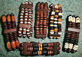 Náramky - Náramky drevené - 5700326_