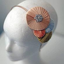Ozdoby do vlasov - Čelenka Ľalia - AKCIA! - 5701724_