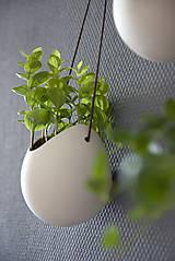 Nádoby - Odteraz • Porcelánové kvetináče 3x - 5702936_