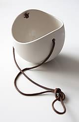 Nádoby - porcelánové kvetináče 3ks - 5702939_