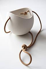 Nádoby - porcelánové kvetináče 3ks - 5702940_