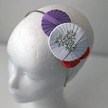Ozdoby do vlasov - Čelenka Karafiát - AKCIA! - 5703718_