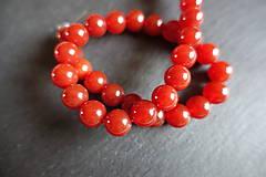 Minerály - Achát červený II 10mm - 5703473_