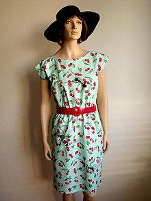 Šaty - Mravce na čerešniach - 5703701_