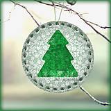 Dekorácie - Vintage vianočný stromček - 5703670_