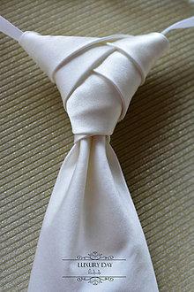 Doplnky - francúzska kravata z pravého hodvábu - 5706206_