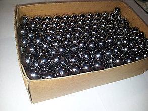 Iný materiál - Chróm oceľové guličky, 13,5mm; 190 ks - 5704317_