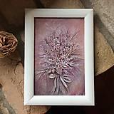 - Maľovaná kytica Provence - 5704902_