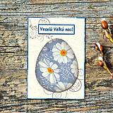 Papiernictvo - Kraslica - vintage veľkonočná pohľadnica - 5706827_